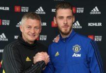David de Gea signs new deal