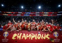FIBA Basketball world cup winners