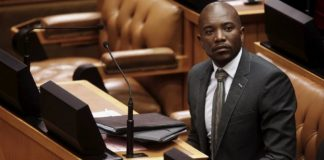 South African opposition in crisis as ex-leader quits as MP