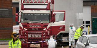victims dead in truck near London