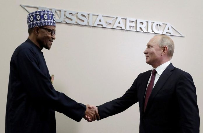 Buhari at Russia summit