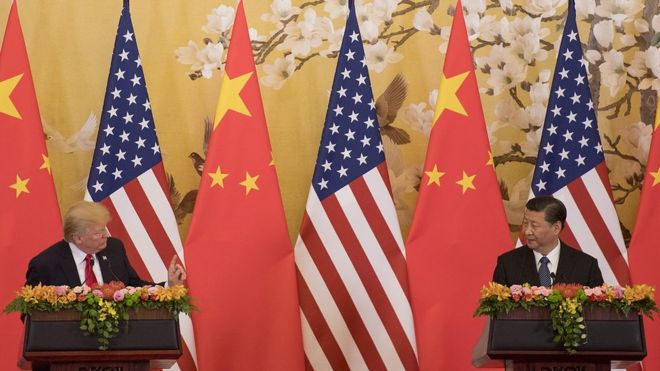 US-China Tariff Tension, No-deal Brexit