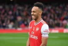 Aubameyang Arsenal's new captain