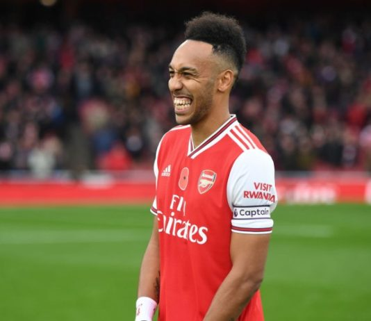 Aubameyang Arsenal's new captain
