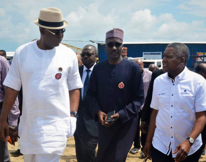 FG support Dangote Refinery
