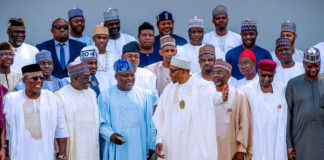 Buhari Speakers of states Assembly Aso Rock
